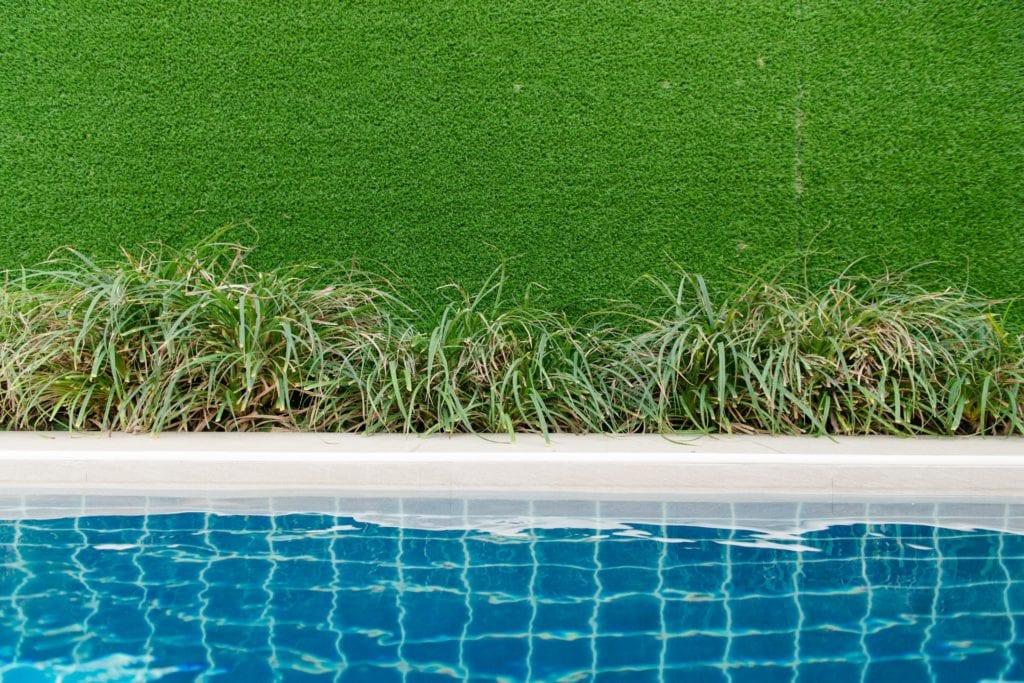 Nachhaltigkeit ist auch beim Pool wichtig.