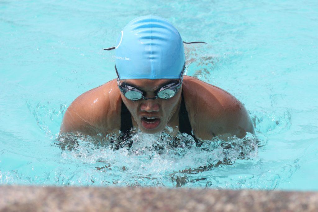 Sport im Pool kann abwechslungsreich sein.